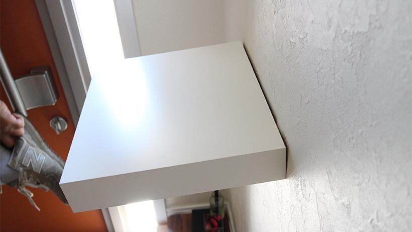 飾り棚修理1