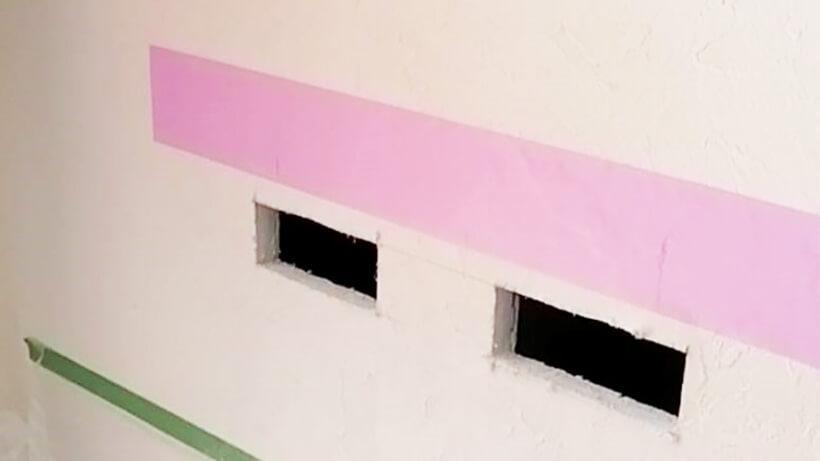 飾り棚修理3