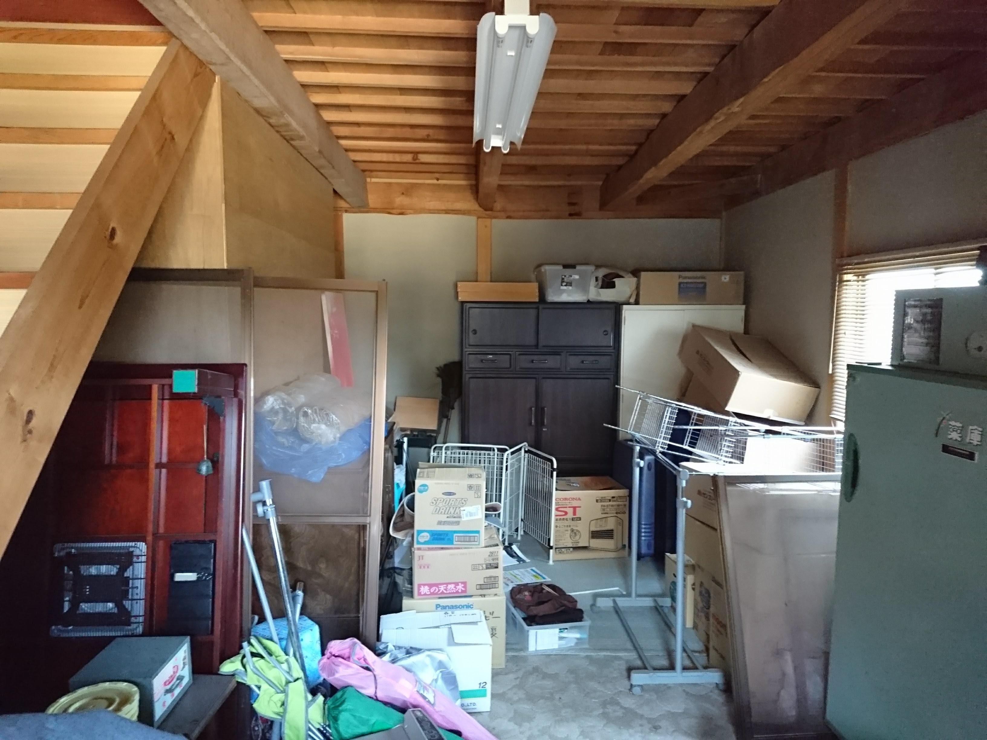 倉庫を趣味の部屋にリフォーム 広島県府中市