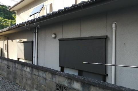 スタイルシェード取付-After-広島県府中市